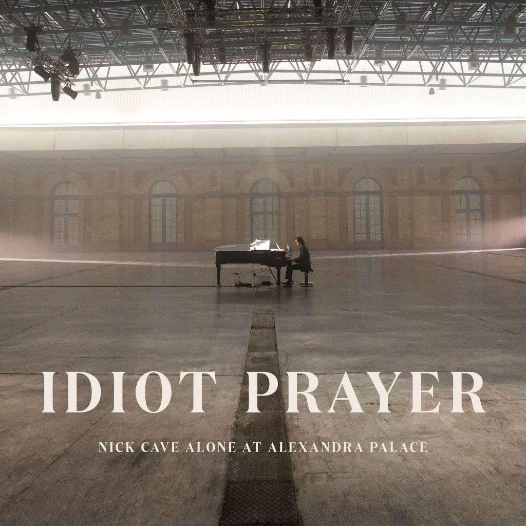 Nick Cave – Idiot Prayer: Nick Cave Alone at Alexandra Palace, okładka albumu