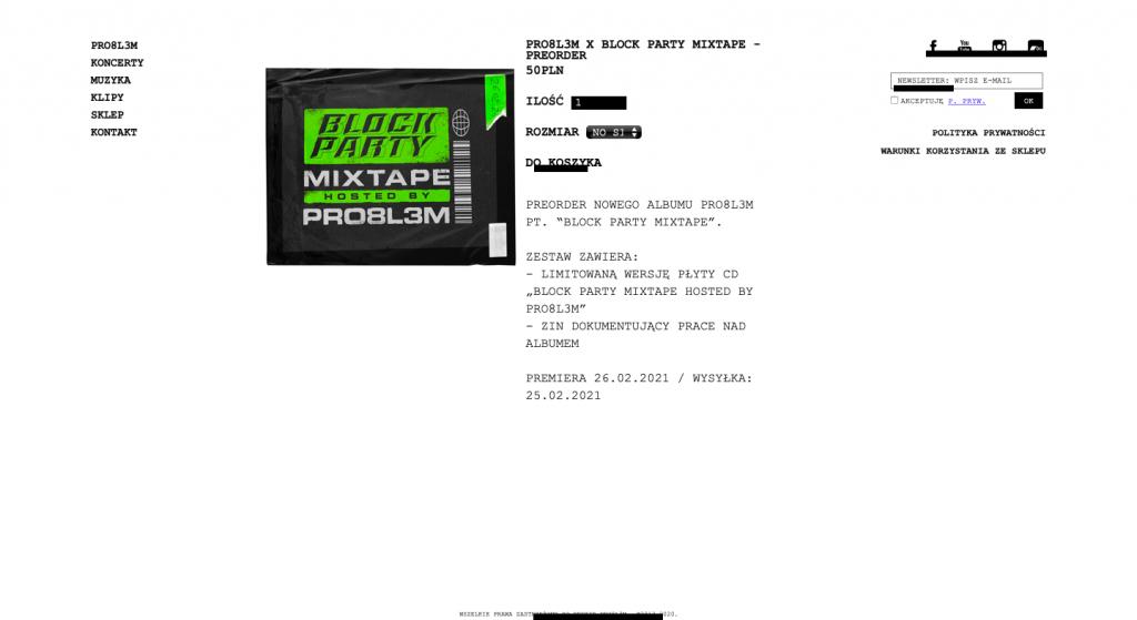 PRO8L3M - block party mixtape