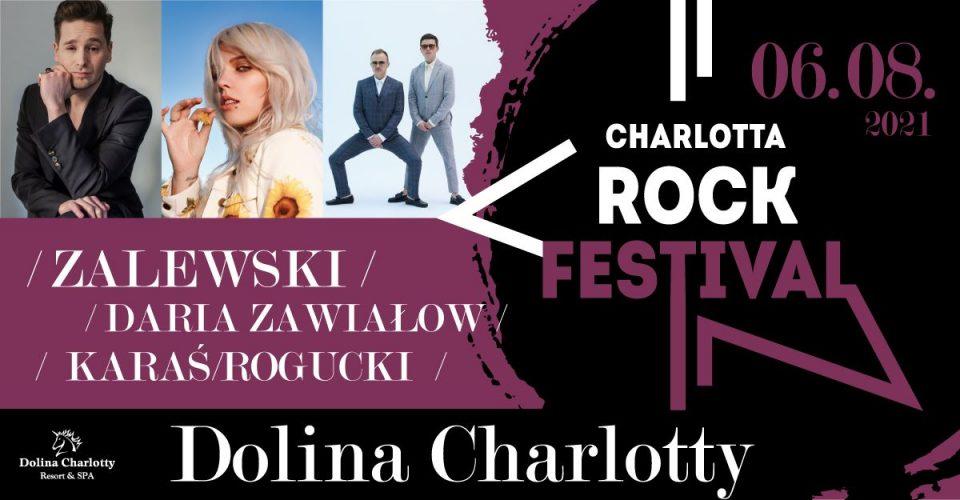 Charlotta Rock Festival - Karaś/Rogucki / Zawiałow / Zalewski