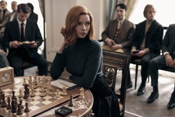 Gambit królowej z rekordem na Netflixie