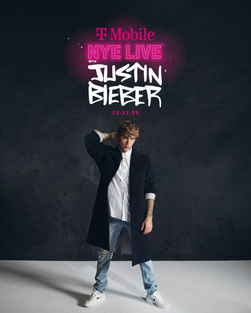 Justin Bieber - koncert sylwestrowy online