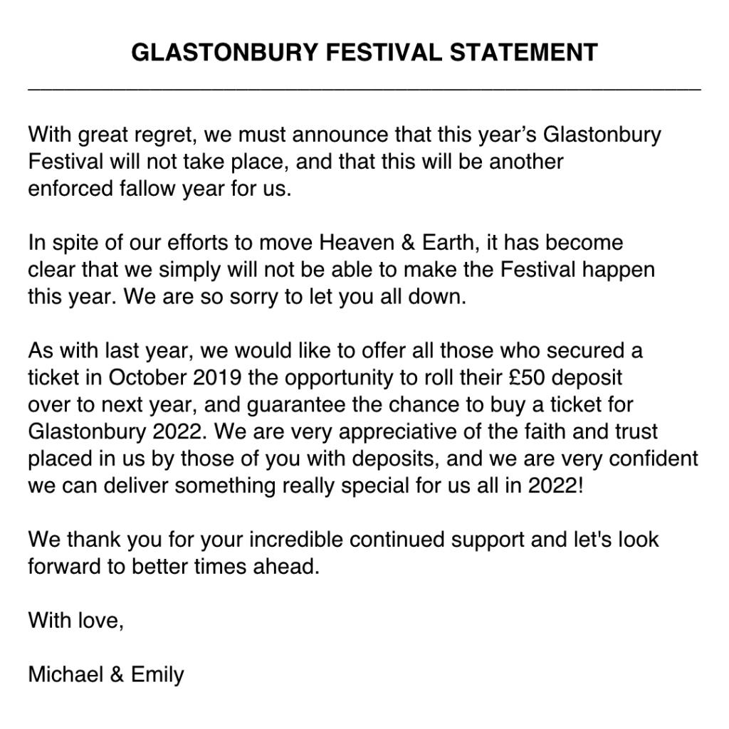 Glastonbury 2021