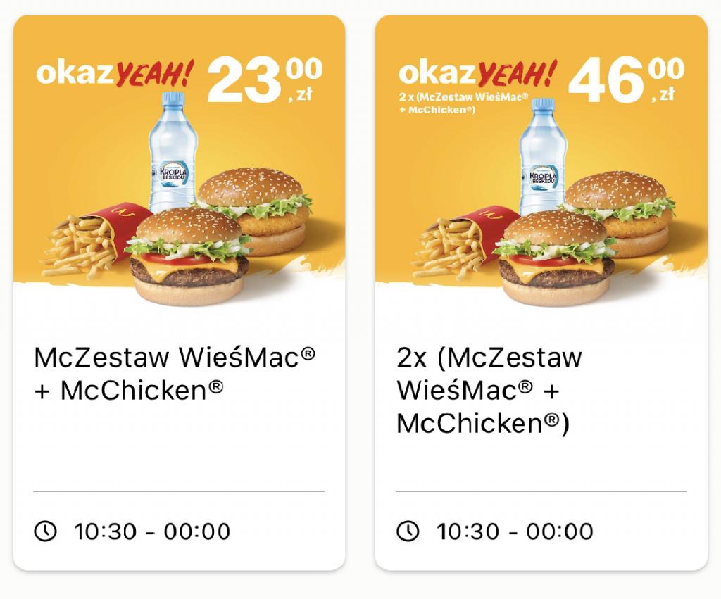 McDonald's Podatek cukrowy