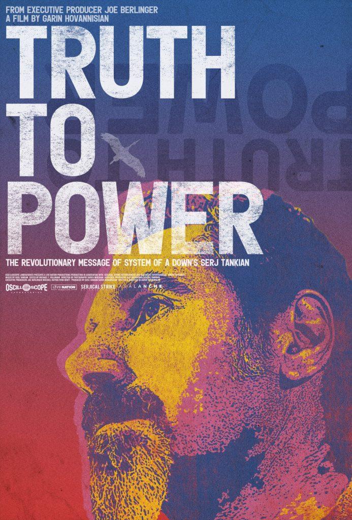 Serj Tankian System Of A Down - film Truth to power