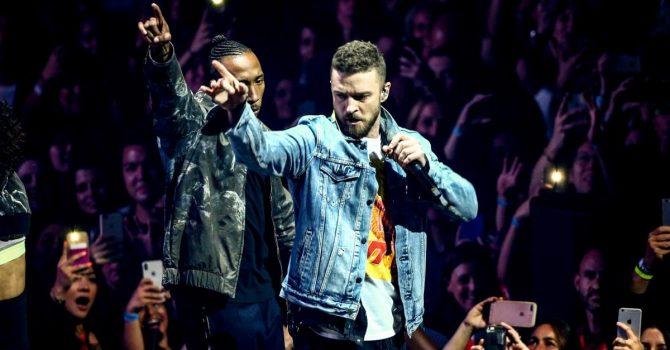 Justin Timberlake nagrywa nowy album. Czy na jego płycie usłyszymy Travisa Scotta i Kendricka Lamara?