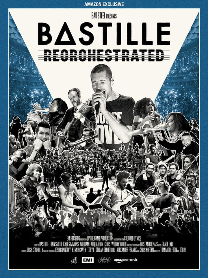 Bastille ReOrchestrated plakat filmu dokumentalnego
