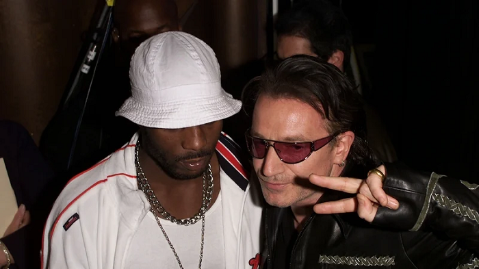 DMX i Bono podczas MTV Video Music Awards w Metropolitan Opera House w Nowym Jorku (2010)