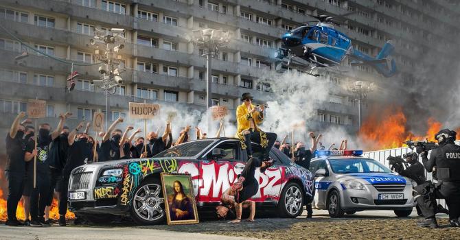 """Kali i Major SPZ kontynuują """"HUCPE"""" w nowym klipie"""