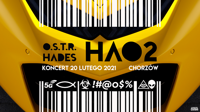 O.S.T.R.-Hades-koncert-Chorzów-2021-plakat