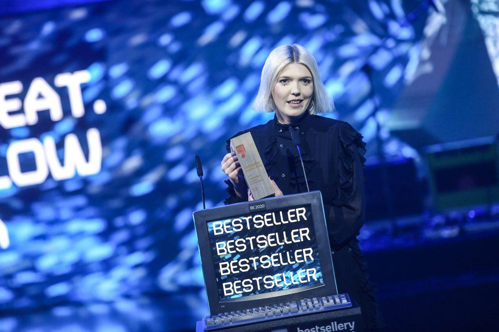 Daria Zawiałow na gali Bestsellery Empiku 2020