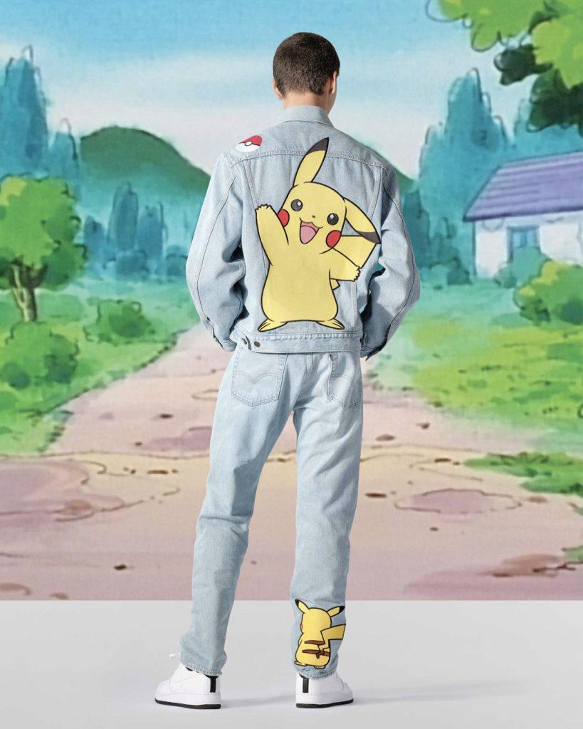 Levi's stworzył kolekcję z Pokemonami Levi's x Pokémon