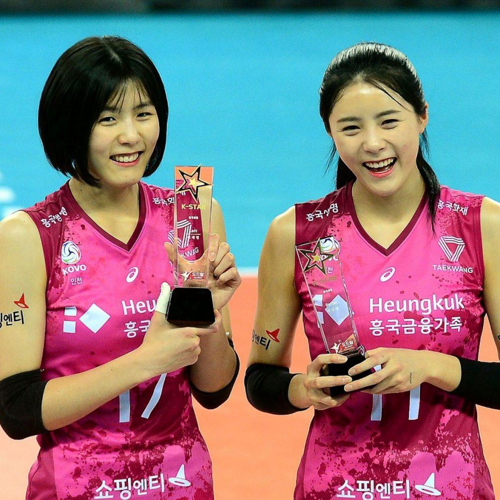 Siostry Lee Jaeyeong i Lee Dayeong
