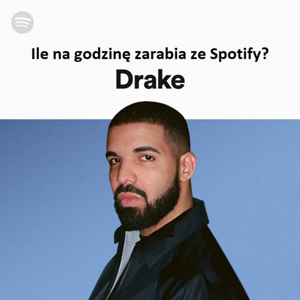 Drake zrobił miliard na Spotify