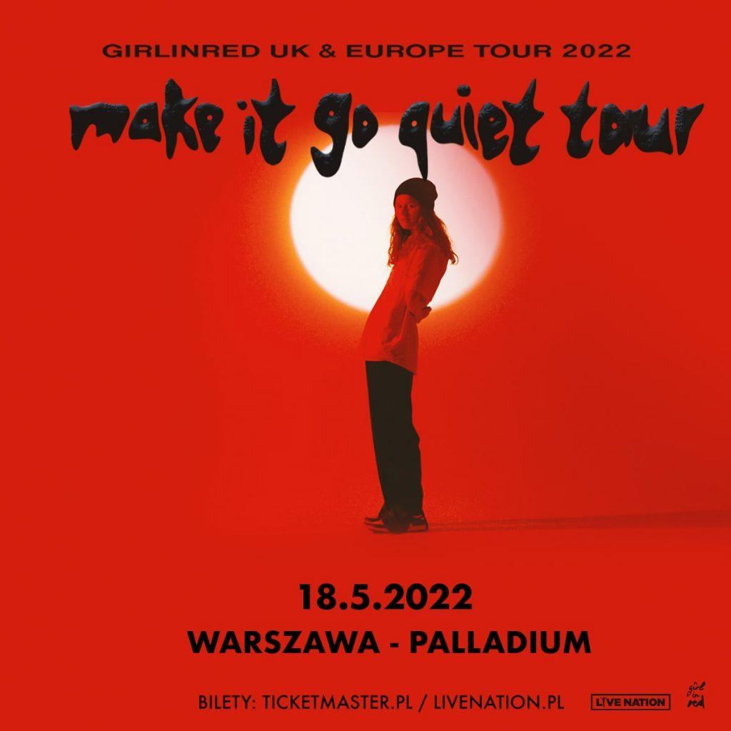 make it go quiet tour Warszawa Palladium