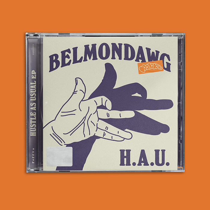 Belmondowg - Hustle As Usual EP - okładka