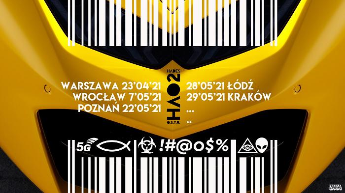 O.S.T.R. & Hades - trasa koncertowa HAO2 - 2021