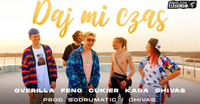 Młode Wilki, czyli Gverilla, Feno, Cukier, Kara i Chivas w kolejnym singlu akcji Popkillera