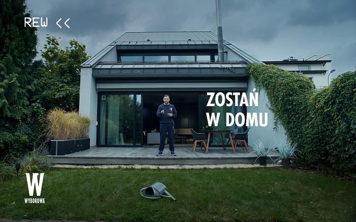 Sokół x Wyborowa - Zostań w Domu