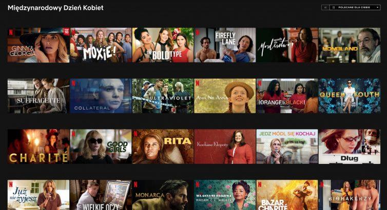 Netflix na Dzień Kobiet