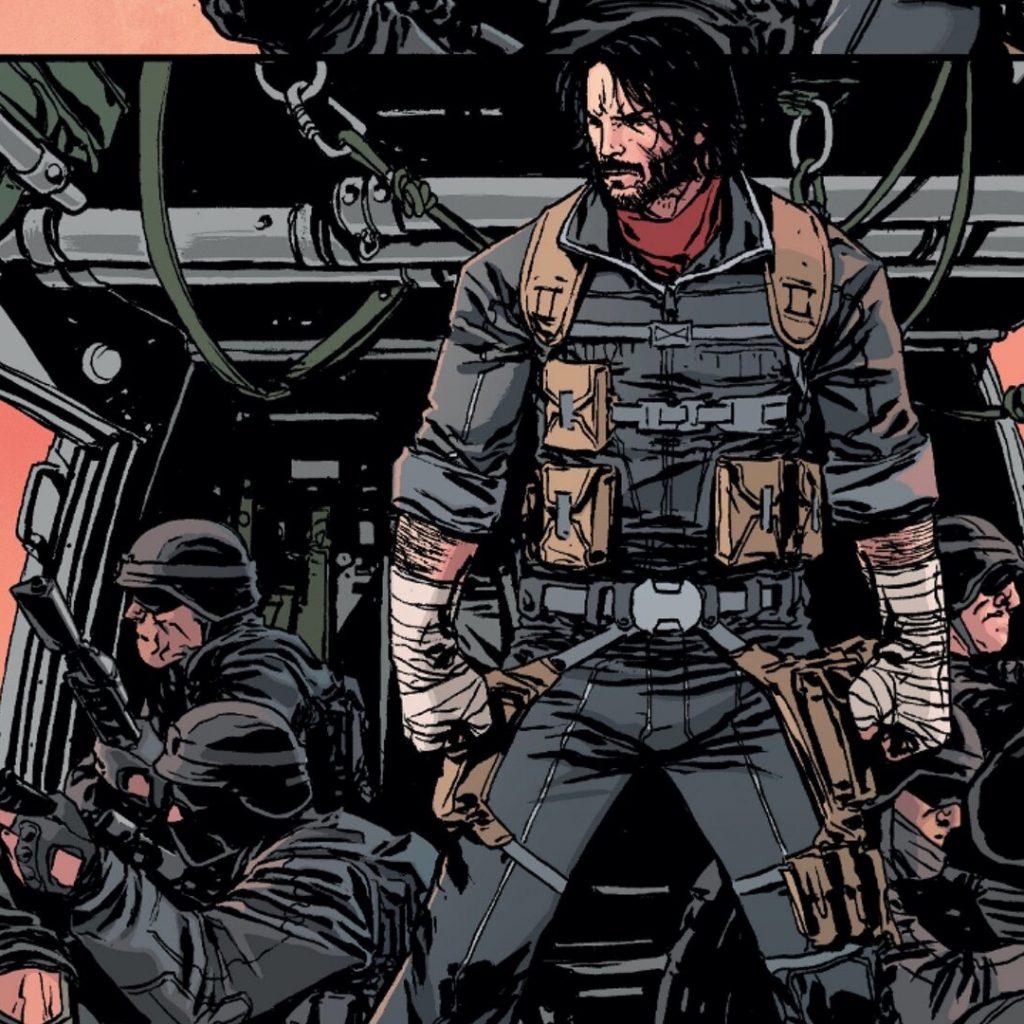 Netflix zekranizuje komiks Keanu Reevesa