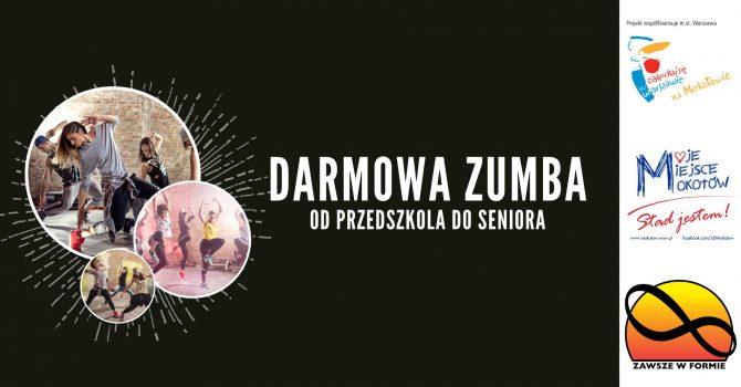 Darmowa Zumba - od przedszkola do seniora