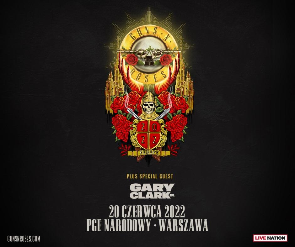 Guns N' Roses koncert w Polsce na Stadionie Narodowym