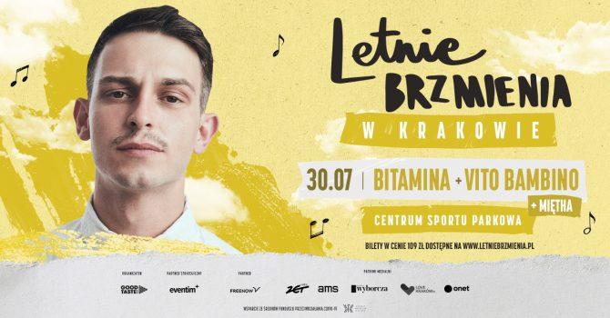 Letnie Brzmienia w Centrum Sportu Parkowa: Bitamina + Miętha + Vito Bambino