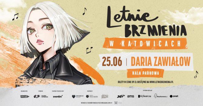 Letnie Brzmienia w Hali Parkowej: Daria Zawiałow