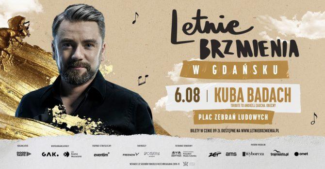 """Letnie Brzmienia na Placu Zebrań Ludowych: Kuba Badach - koncert """"Tribute to Andrzej Zaucha. Obecny"""""""