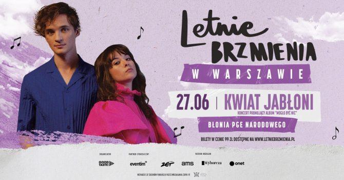 """Letnie Brzmienia na Błoniach PGE Narodowego: Kwiat Jabłoni - koncert promujący album """"Mogło być nic"""""""