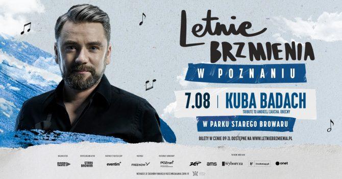 """Letnie Brzmienia w Parku Starego Browaru: Kuba Badach - koncert """"Tribute to Andrzej Zaucha. Obecny"""""""