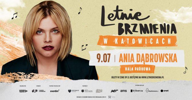 Letnie Brzmienia w Hali Parkowej: Ania Dąbrowska