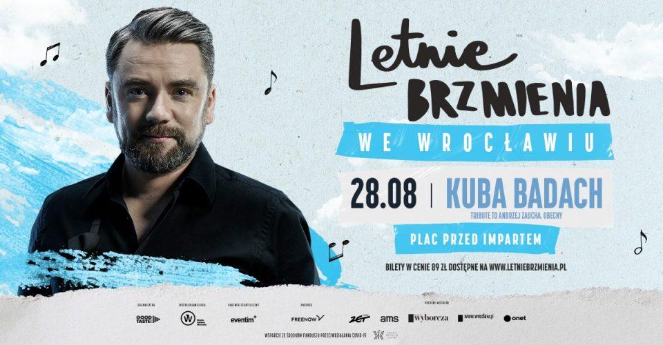 """Letnie Brzmienia na placu przed Impartem: Kuba Badach - koncert """"Tribute to Andrzej Zaucha. Obecny"""""""