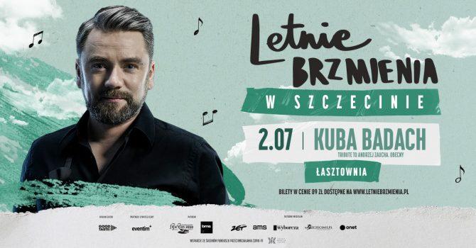 """Letnie Brzmienia na Łasztowni: Kuba Badach - koncert """"Tribute to Andrzej Zaucha. Obecny"""""""