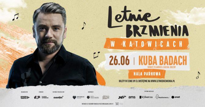 Letnie Brzmienia w Hali Parkowej: Kuba Badach - Tribute to Andrzej Zaucha. Obecny