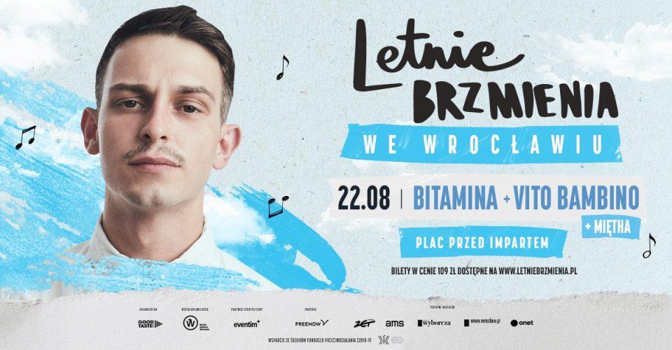Letnie Brzmienia na placu przed Impartem: Bitamina + Miętha + Vito Bambino