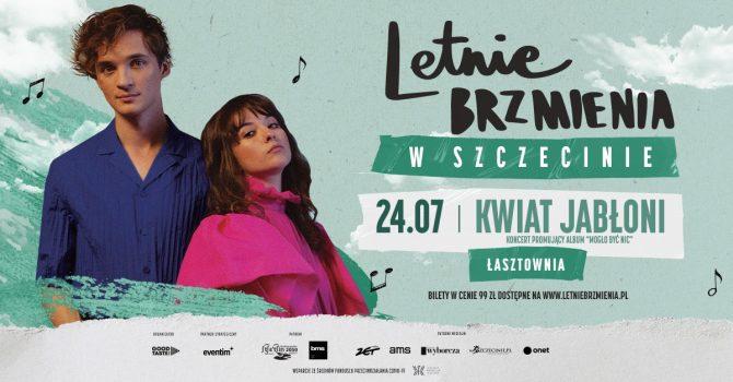 """Letnie Brzmienia na Łasztowni: Kwiat Jabłoni - koncert promujący album """"Mogło być nic"""""""