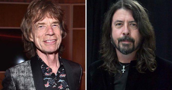"""Mick Jagger i Dave Grohl mają dość lockdownu. Sprawdźcie ich optymistyczne prognozy w """"EASY SLEAZY"""""""