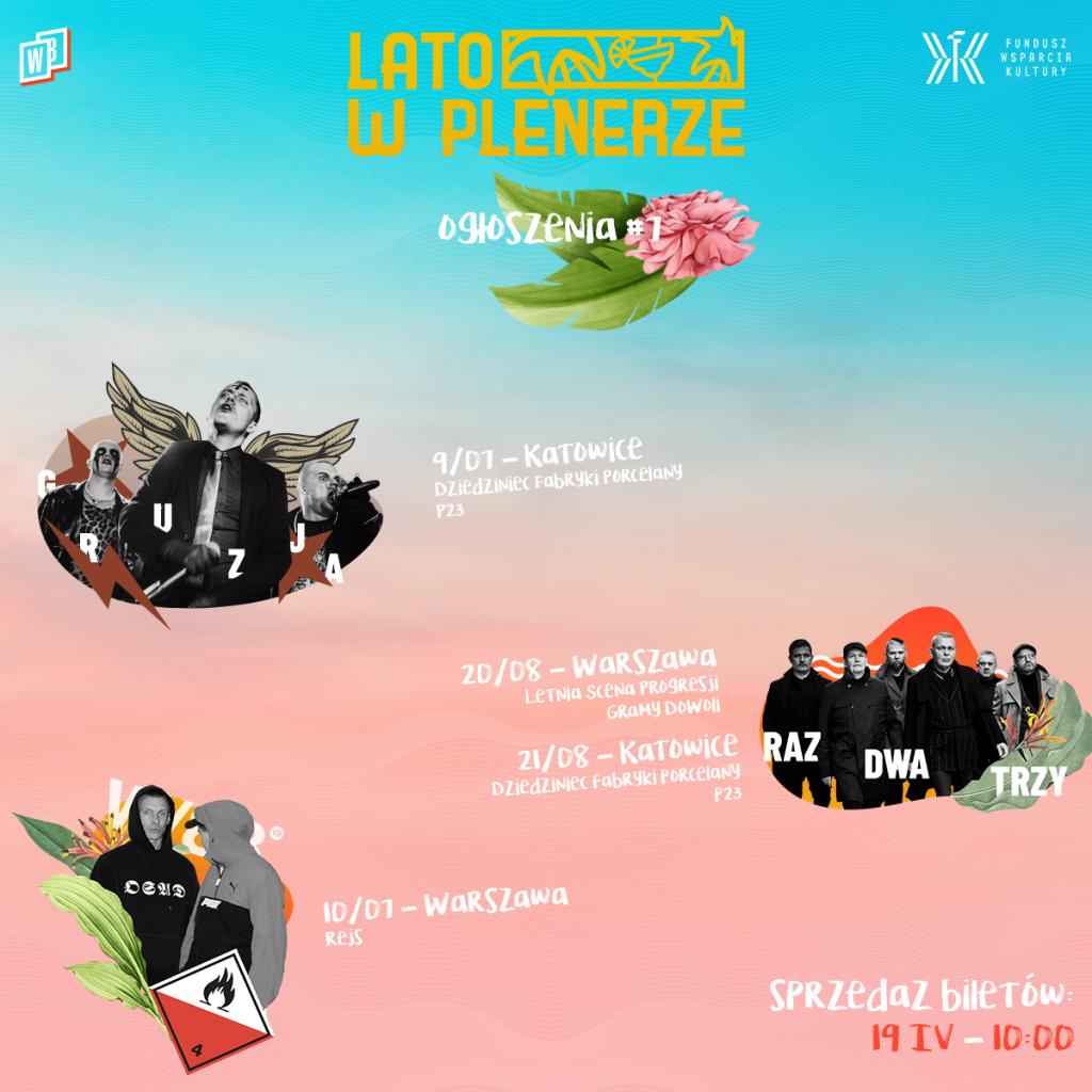 Lato w Plenerze line-up bilety