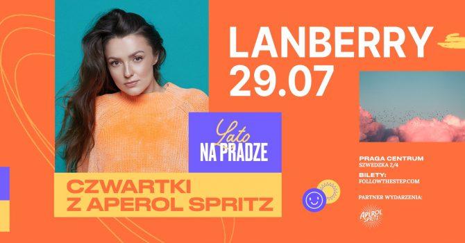 Lato na Pradze z Aperol Spritz / Lanberry / 29 lipca 2021