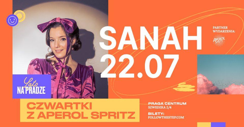 Lato na Pradze z Aperol Spritz / sanah / 22 lipca 2021