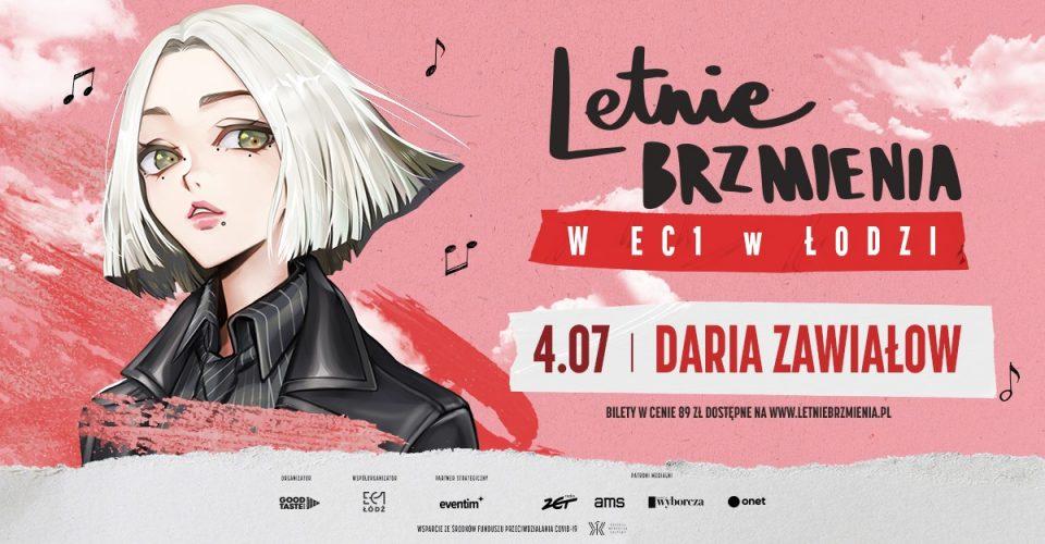 Letnie Brzmienia w EC1 w Łodzi: Daria Zawiałow