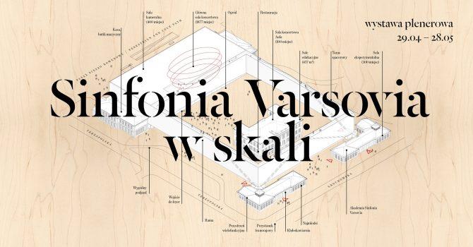 Sinfonia Varsovia w skali. Wystawa plenerowa