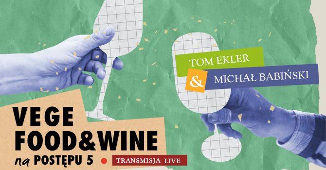 Vege food & wine #live