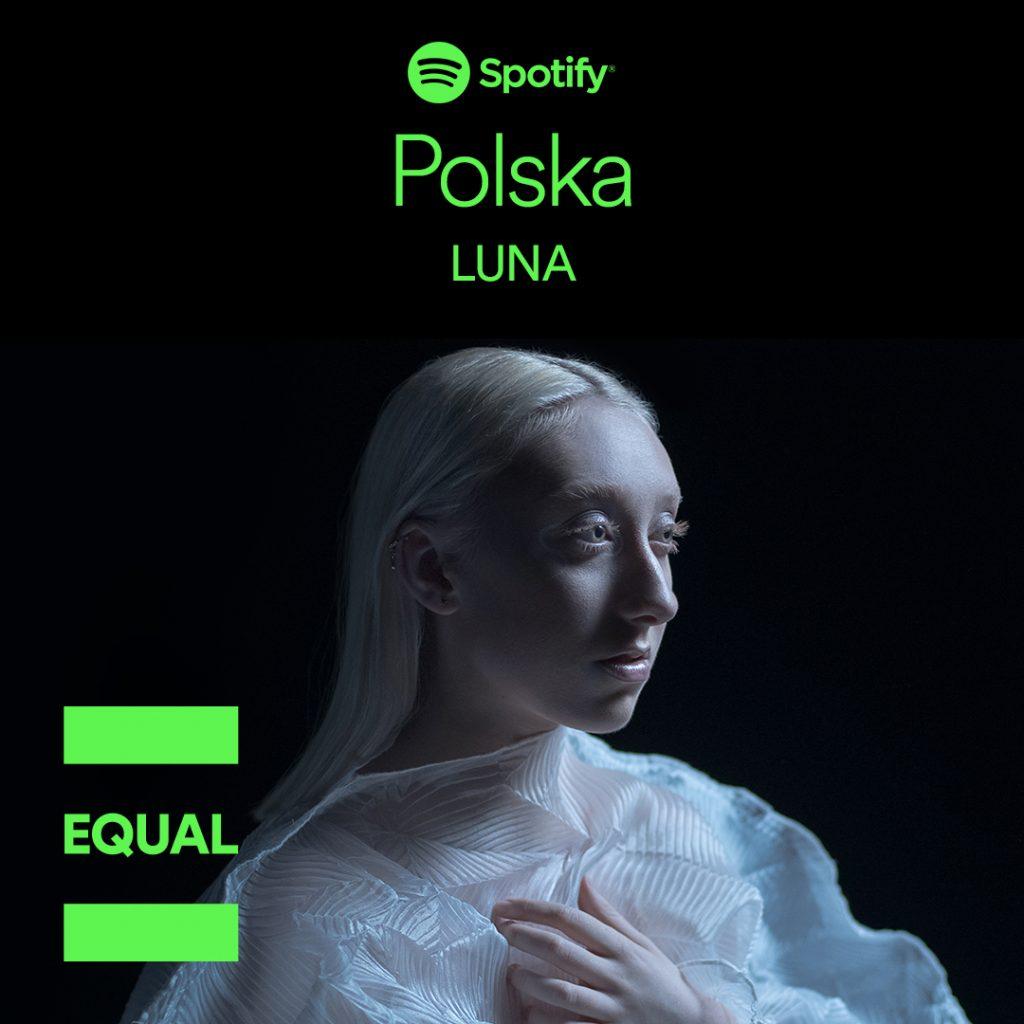 Luna Blind EQUAL Spotify Times Square