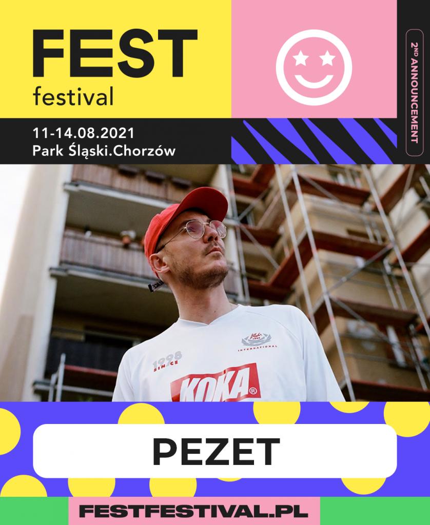 Pezet na FEST Festival 2021