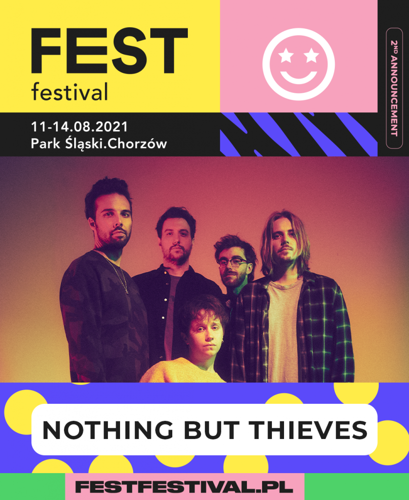 Nothing But Thieves na FEST Festival 2021