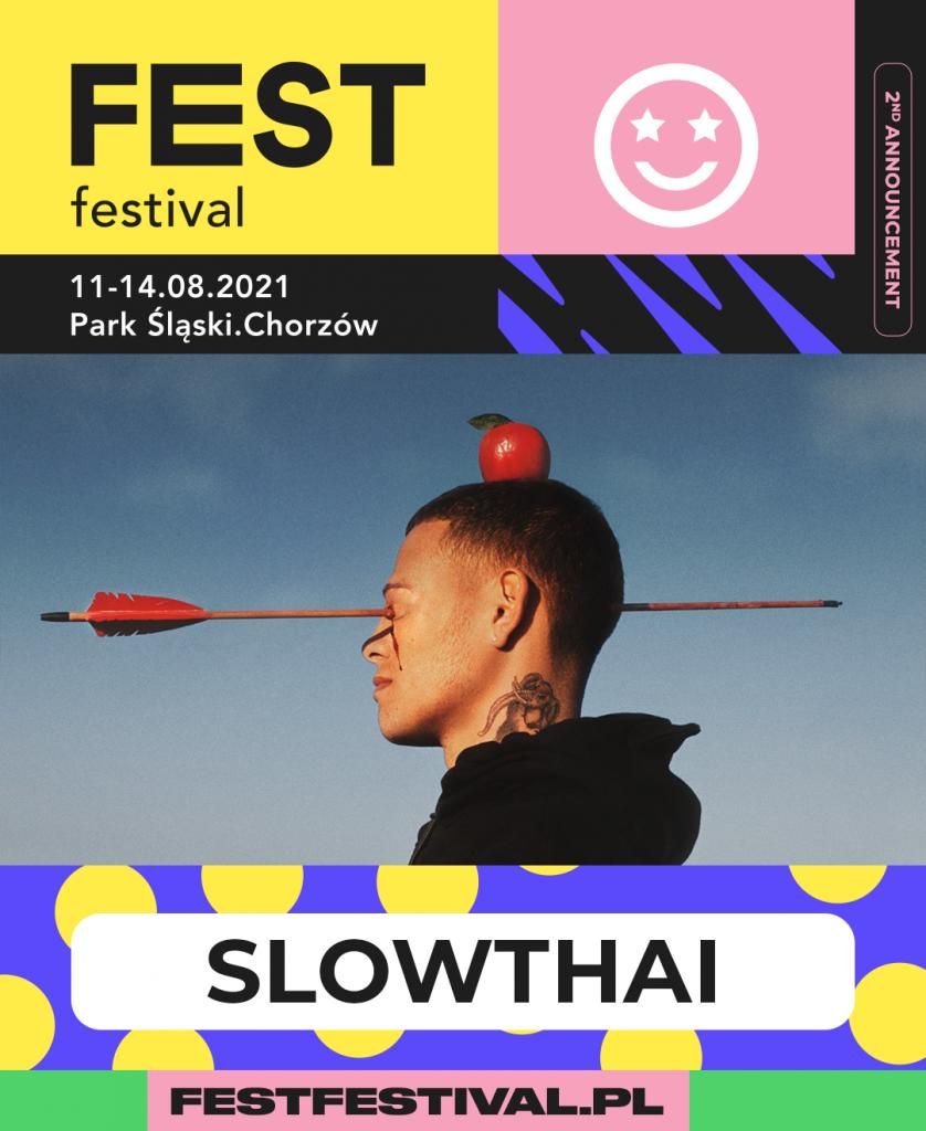 Slowthai na FEST Festival 2021