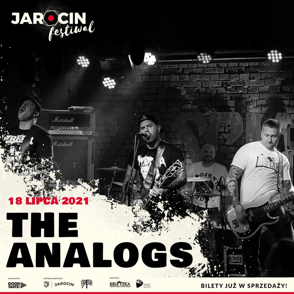 Jarocin Festiwal 2021 - line-up bilety - The Analogos