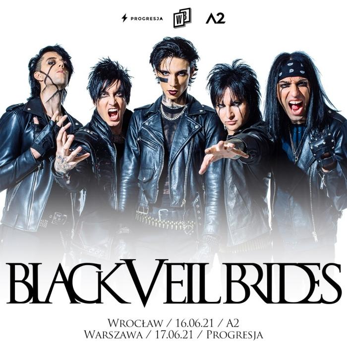 Black Veil Brides koncert w Warszawie
